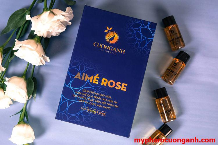 Aimé Rose Cường Anh – Bổ xung collagen tái tạo nét thanh xuân